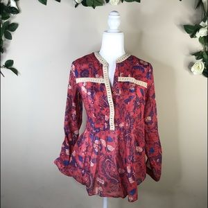 Anthro blouse